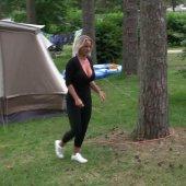 Creampie Fremdfick beim Camping !