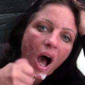 Nachbars Zigarre! Smoking Blowjob Facial