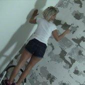 Malermeister bei Renovierung abgefickt